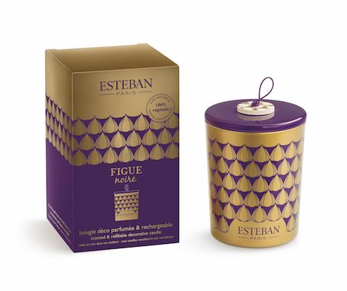 Levně Estéban Paris Parfums VONNÁ SVÍČKA ESTEBAN - FÍKY, 170 G