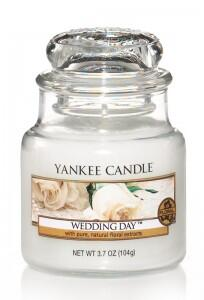 Svíčka ve skle malá, YANKEE CANDLE, Wedding Day