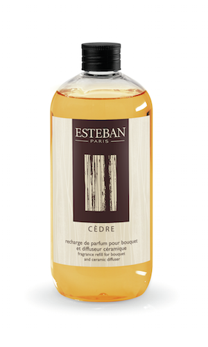 NÁPLŇ DO DIFUZÉRU ESTEBAN - CEDR, 500 ML