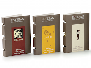 ESTEBAN, TESTER SPRAY 2,5 ML - TEAK UND TONKA