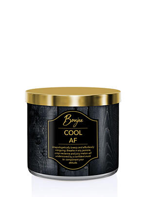 KRINGLE CANDLE VONNÁ SVIEČKA BOUJEE – COOL AF, 411 G