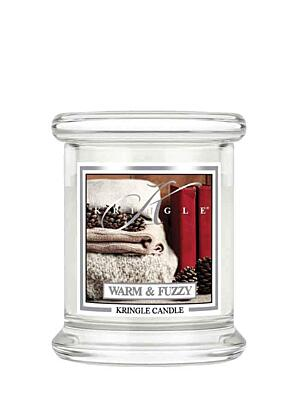 KRINGLE CANDLE VONNÁ SVÍČKA MALÁ -  WARM&FUZZY