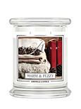 KRINGLE CANDLE Medium Duftkerze - WARM&FUZZY