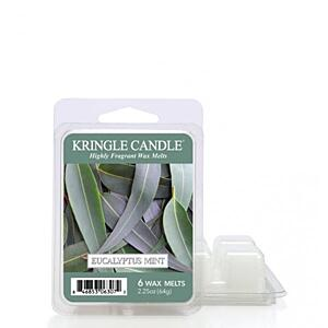 KRINGLE CANDLE, DUFTWACHSE - EUCALYPTUS MINT, 64 G