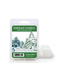 KRINGLE CANDLE, VONNÝ VOSK - SNOW CAPPED FRASER, 64 G