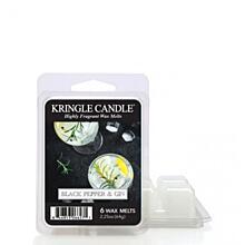 KRINGLE CANDLE, ILLATOS VIASZ - BLACK PEPPER GIN, 64 G