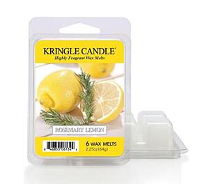 KRINGLE CANDLE, VONNÝ VOSK - ROSEMARY LEMON, 64 G
