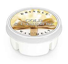 KRINGLE CANDLE, ILLATOS VIASZ - GOLD&CASHMERE, 35 G