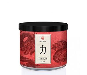 KRINGLE CANDLE VONNÁ SVÍČKA ZEN – STRENGHT, 411 G