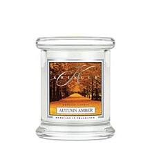KRINGLE CANDLE VONNÁ SVÍČKA MALÁ - AUTUMN AMBER