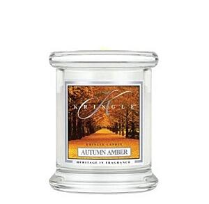 KRINGLE CANDLE kleine Duftkerze - AUTUMN AMBER