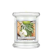 KRINGLE CANDLE KIS ILLATGYERTYA - CRISP APPLE AND SAGE