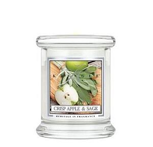 KRINGLE CANDLE VONNÁ SVÍČKA MALÁ - CRISP APPLE AND SAGE