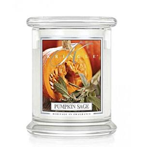 KRINGLE CANDLE KÖZEPES ILLATGYERTYA - PUMPKIN SAGE