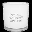 MY FLAME VONNÁ SVÍČKA - MAY ALL YOUR DREAMS COME TRUE - FRESH COTTON