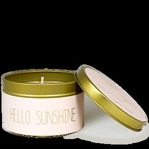MY FLAME LLATGYERTYA - HELLO SUNSHINE - GREEN TEA TIME