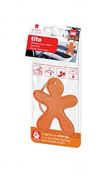 TITO voňavý panáček, oranžový - Energy