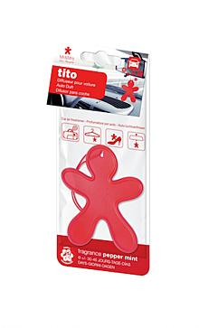 TITO voňavý panáček, červený - Pepper Mint