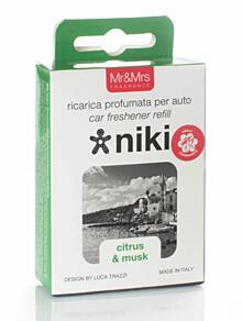 Náhradná náplň - vôňa do auta NIKI, Citrus & musk