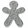 Niki Silver Crystal s chromovým okrajem – Splendido (Báječný)