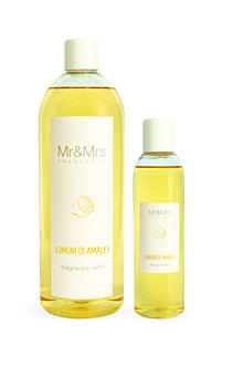 MR&MRS FRAGRANCE NÁPLŇ DO DIFUZÉRU - LIMONI DI AMALFI, 200 ML