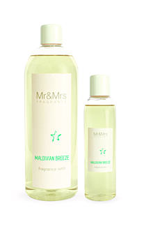 MR&MRS FRAGRANCE NÁPLŇ DO DIFUZÉRU - MALDIVIAN BREEZE, 200 ML