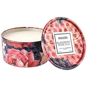 VOLUSPA VONNÁ SVÍČKA ROSES - BLACKBERRY ROSE OUD (RŮŽE A OSTRUŽINA), 170 G