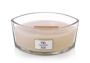 WOODWICK DUFTKERZE SCHIFFCHEN - WHITE HONEY, 453 G