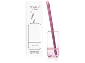 Designový tyčinkový difuzér Millefiori – Capsule růžový, 250 ml