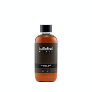 Náplň do aroma difuzéru 250ml, NATURAL, Millefiori, Vanilka - dřevo